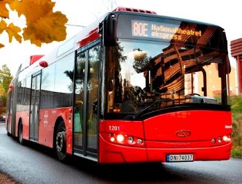 Allison hibrid sistemli Solaris otobüsler Oslo'da