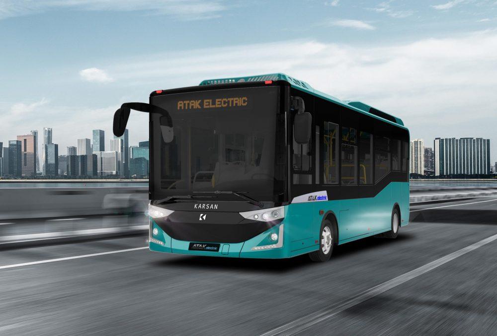 Karsan'dan Romanya'ya 20 adet elektrikli otobüs!
