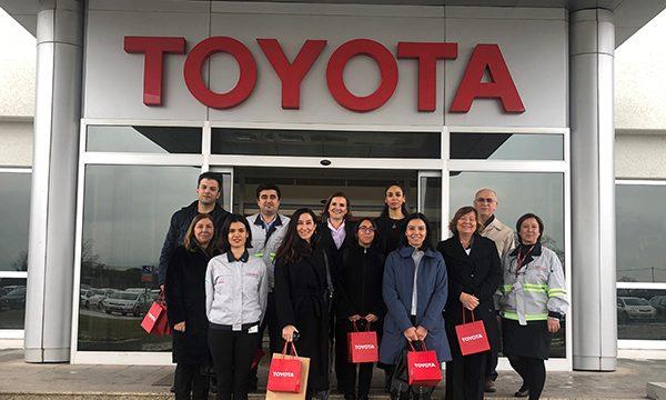 Toyota fabrika ziyaretlerini sosyal sorumluluk projesine dönüştürdü